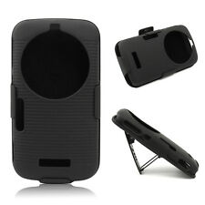 Belt Clip Holster Hard Black Case Stand Cover For Samsung Galaxy K Zoom S5 C115