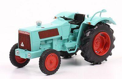 Atlas Modellauto Hanomag Brillant 601 1967 Traktor Blister 1:43 Hachette