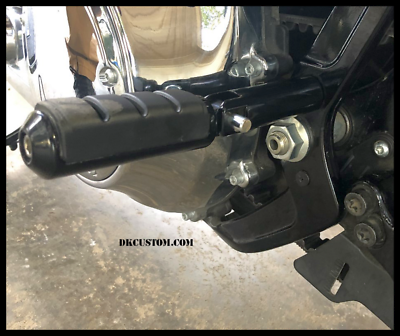 Passenger Rear FootPeg Support Mount Bracket Kit For Harley Softail Street Bob