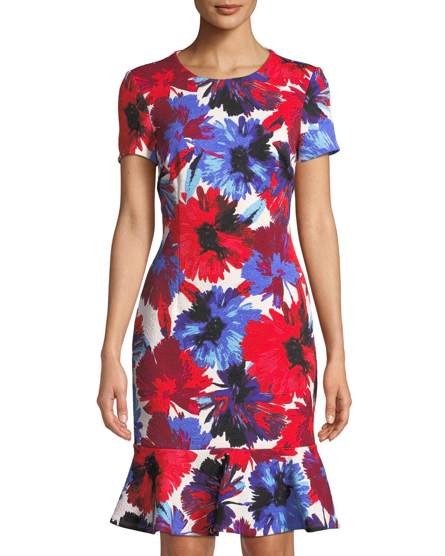 Maggy London Flounce Dress ( Größe 18)