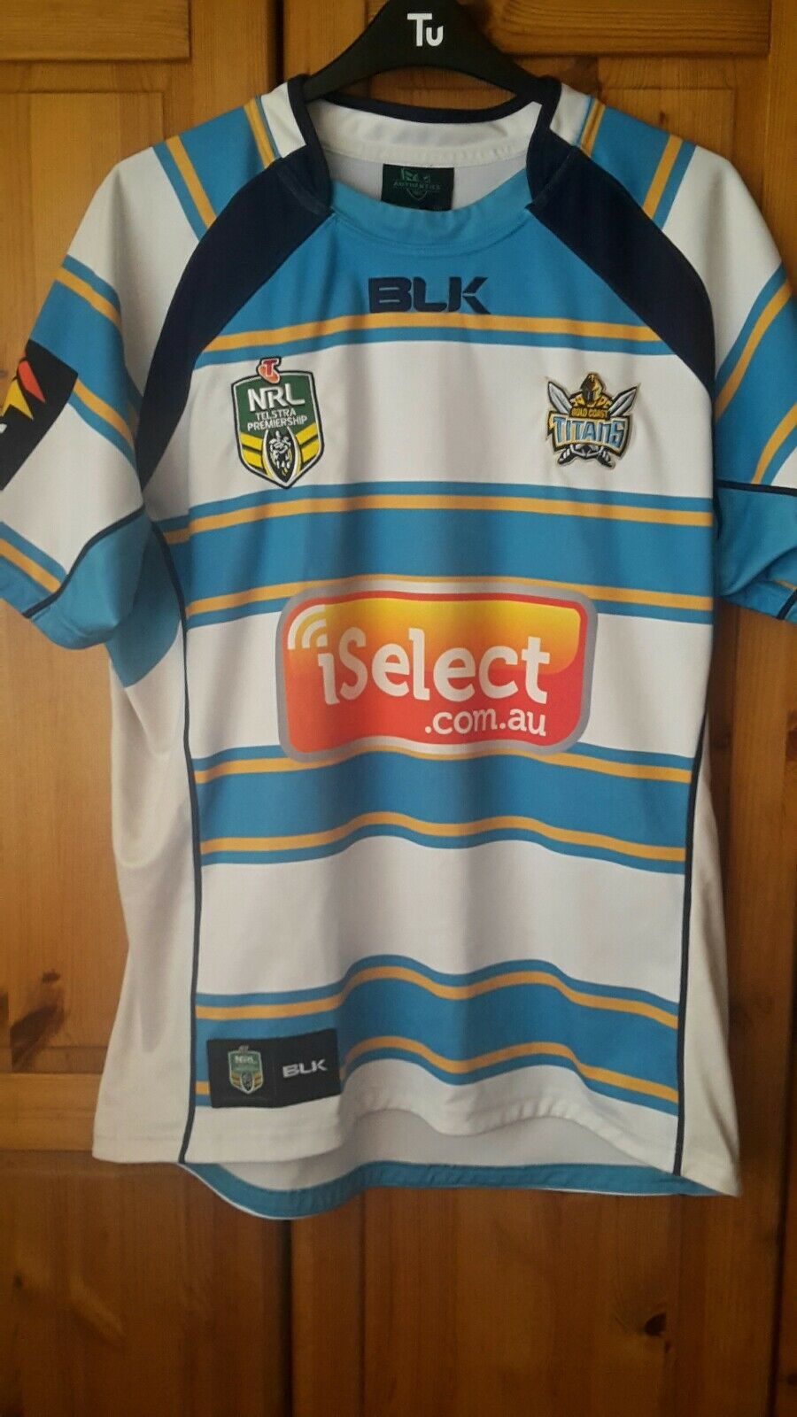 Gold Gold Gold Coast Titans NRL Jersey Taille XXL 94598e