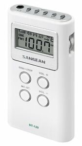 Sangean-Dt-120-white-Pocket-Am-fm-Receiver-sangean-Dt120-white-dt120white