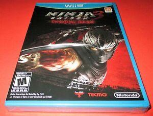 Ninja Gaiden 3 Razor S Edge Nintendo Wii U Factory Sealed Free