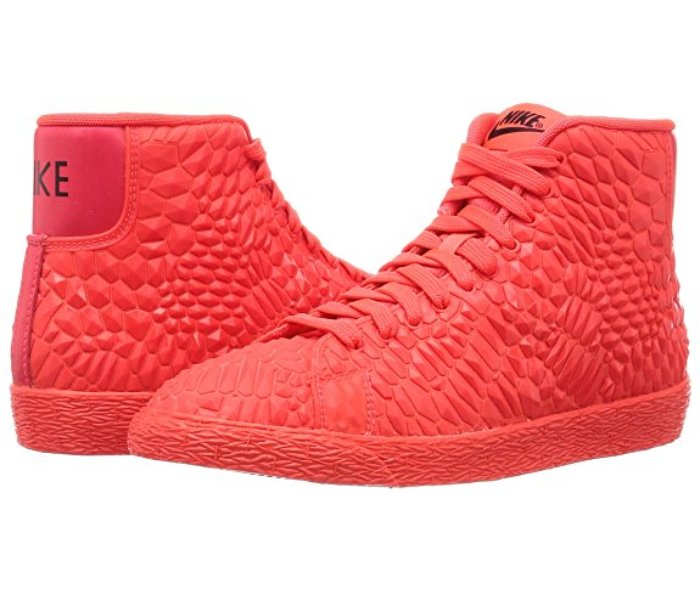 Nike Women's Blazer Mid DMB High High High Top Running Sports Gym Red Trainers 069e1a