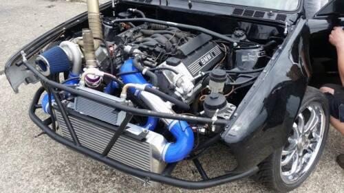 M60 M62 MANIFOLD BMW V8 k64 edehlstahl 10mm FLANGE Stainless Steel