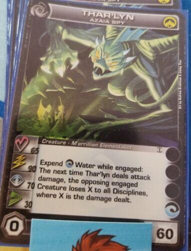 Thar/'lyn Azaia Spy 1x  Chaotic Card UNUSED CODE Random Stats