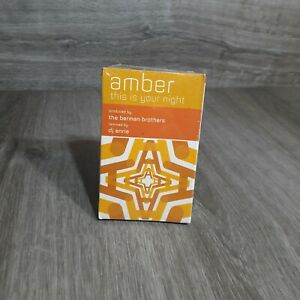 AMBER / THIS IS YOUR NIGHT / CASSETTE BRAND NEW AND FACTORY SEALED