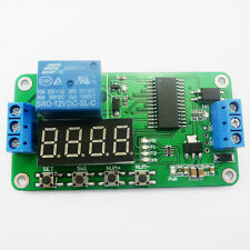 USA! 1 PC 12 VDC PLC CYCLE TIMER MULTIFUNCTION DELAY MODULE NEGATIVE TRIGGER !!