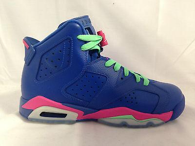 Nike Air Jordan 6 Retro GG Hi Top Trainers 543390 Sneakers Shoes 543390-439
