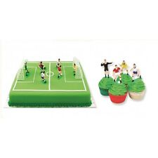PME Football Soccer Toppers Set of 9 Cake Cupcake Decorations Sugarcraft Hobbies
