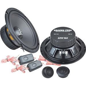 GROUND-ZERO-GZIC-16X-2-Wege-Lautsprecher-System-Car-HiFi-Compo-Set-165mm-NEU