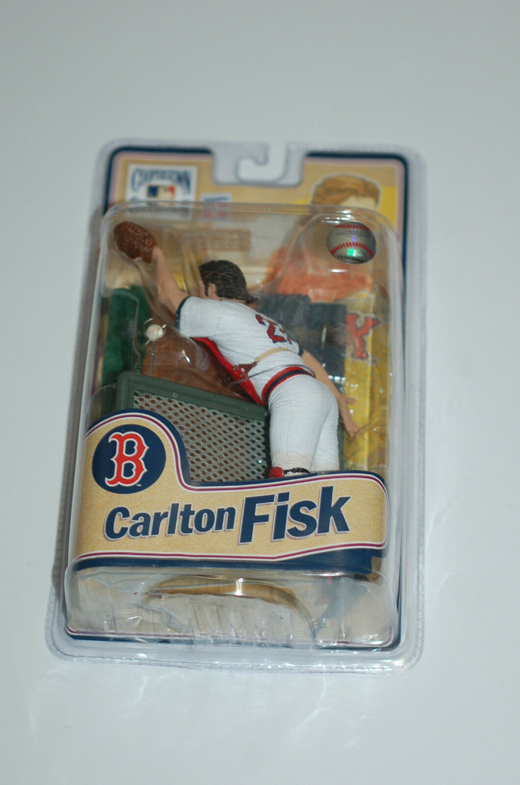 Mcfarlane Cooperstown 8 8 8 Carlton Fisk Boston Red Sox figurine figure statue 97f333