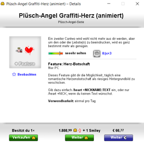 Knuddels.de Smileys Graffiti-Herz | eBay
