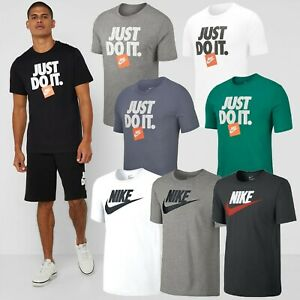 Nike-Futura-IKON-Just-Do-It-Pour-Homme-Classique-Gym-Sport-Casual-T-shirts-en-promotion-S-XL