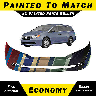 HO1000276 MBI AUTO Primered Front Bumper Cover Replacement Fascia for 2011 2012 2013 Honda Odyssey Van 11 12 13
