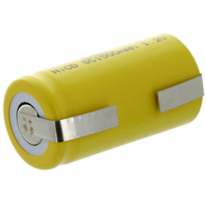 Exell Subc 1 2v 1500mah Nicd Rechargeable Battery With