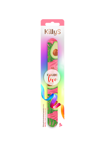 KillyS pilnik Color Love prosty awokado 180-240/ Nail file for natural nails