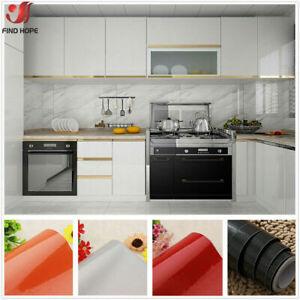 Vinyl Glitter Self Adhesive Wallpaper Roll Wall Stickers Kitchen Cabinet Cover Ebay