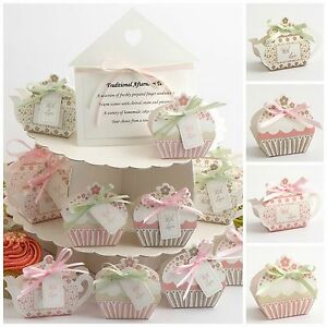 Image Is Loading Luxury DIY Vintage Wedding Tea Party Favour Gift