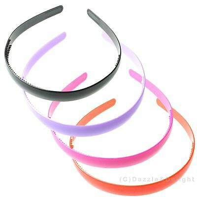 Alice bands headband aliceband plastic wave head hair band women school