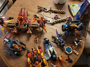 Huge Chima Lego Lot With Books And Figures..