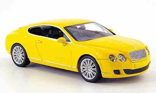MINICHAMPS Bentley Continental GT, GT, GT, Yellow 1 43 Now Sold Out  346903