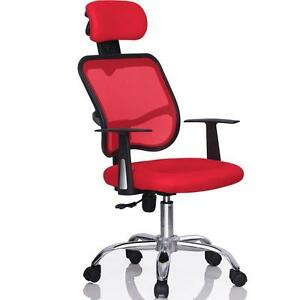 Red-Ergonomic-Executive-Mesh-Computer-Office-Desk-Task-Chair-w-Strong