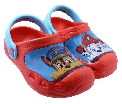 Indoor /& outdoor Kids Paw Patrol │Toddler Boy Clogs children shoes