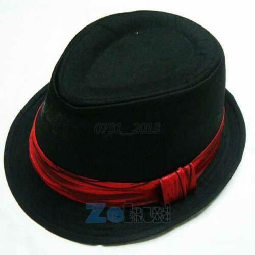 UK Kids Boys Girls Outdoor Cap Trilby Fedora Cool Jazz Hat Child Summer Sun Hat