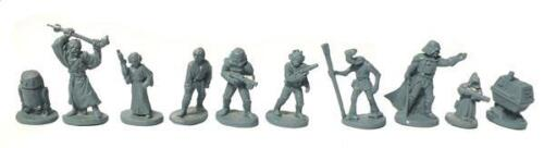 Star Wars A New Hope Complete Set West End Game - 25mm