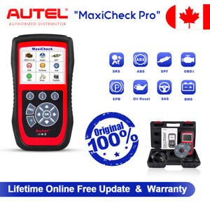 Autel MaxiCheck Pro ABS Auto Bleeding OBD2 Diagnostic Scanner EPB Oil Reset Tool