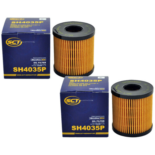 2x Ölfilter Motorölfilter CITROEN FIAT FORD MINI PEUGEOT 206 207 208 301 407