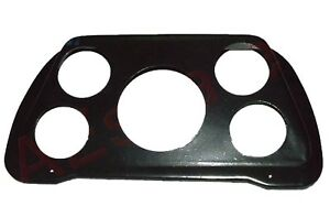 New-Mahindra-amp-Willys-Jeep-Dash-Board-Meter-Plate-Gauge-Plate-Steel-Black