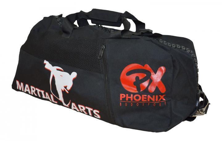Phönix- Sporttasche Rucksack. Rucksack. Rucksack.  Martial Arts  55x25x25cm. Training. Kampfsport. 4a0812