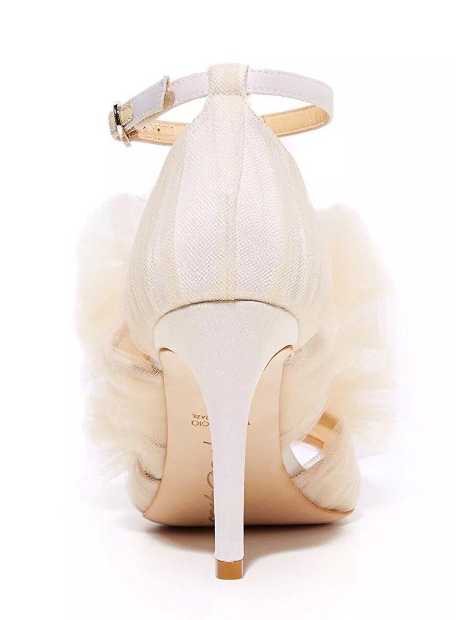NEW  495 Anthropologie BHLDN Amelia Gigi Sandals Heels Heels Heels Wedding Bridal 00b5f7