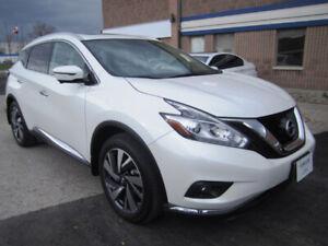 2018 Nissan Murano Platinum Fully Loaded White