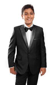 412238adcdb Boys Tuxedo with Shirt   Bow tie Children Tux Formal Wedding Ring ...