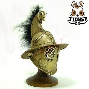 ACI Toys 1/6 Gladiator Priscus_ Golden Helmet No feather _Roman Warriors AT035K
