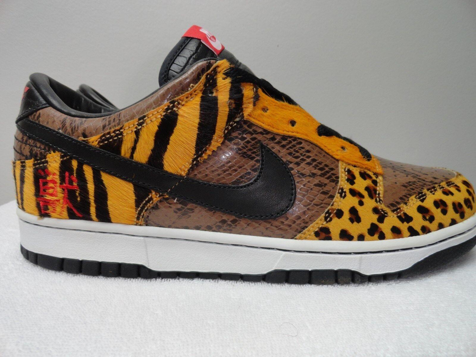 Nike Dunk temporada Low Safari tamaño 9 temporada Dunk de recortes de precios, beneficios de descuentos 6fb46a
