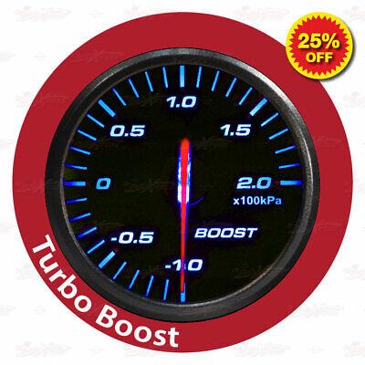 60mm 12V Stepper Motor Gauge BLUE Light SLIM Design RACING Meter OIL PRESSURE