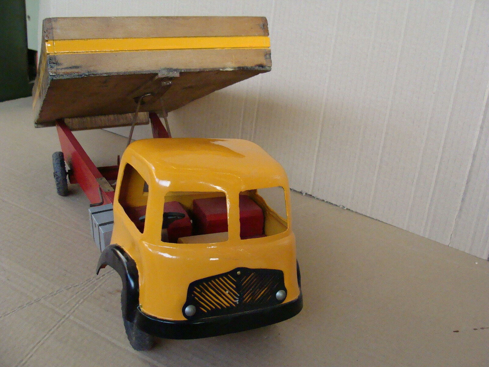 CAMION IN LEGNO ANNI 50-60 VINTAGE WOOD TOYS