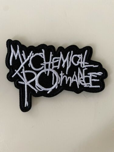"MY CHEMICAL ROMANCE band PATCH 3.25"" Iron-on ROCK Music Embroidered Patches MCR"
