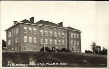Pullman WA WSC State College Morrill Hall c1915 Real Photo Postcard dcn