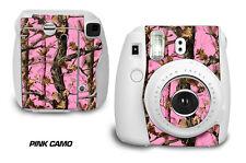 Custom Skin Sticker Wrap Decal For Fujifilm Instax Mini 8 Instant Camera PINK CO
