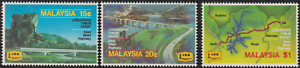 105-MALAYSIA-1983-EAST-WEST-HIGHWAY-SET-3V-FRESH-MNH-CAT-RM-22