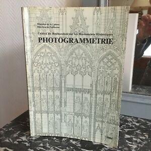 repertoire-PHOTOGRAMMETRIE-Centre-Recherche-sur-les-Monuments-Historiques-1984