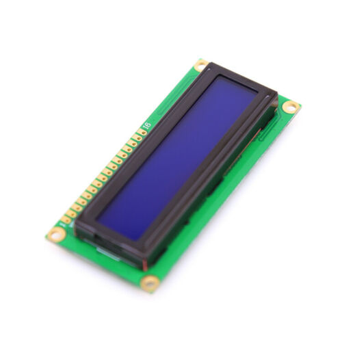 NEW 1602 16x2 LCD Display Module HD44780 Character LCM Controller Blue Arduino