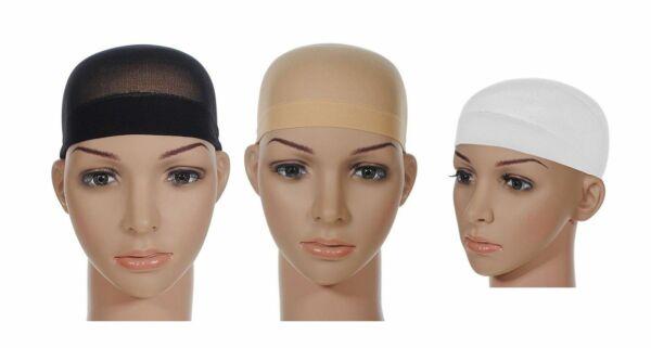 2 Parrucca Tappo Traspirante Elastico Cappello Parrucca, Taglia Unica, Nuovo