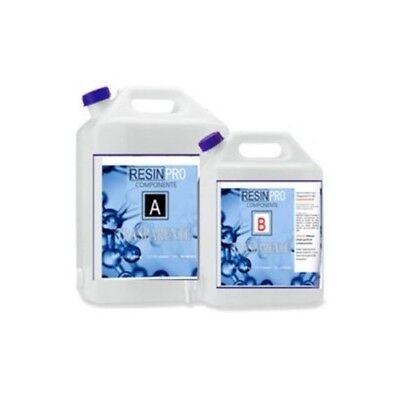 Resina Epossidica Trasparente Per Colata Manufatti Tavoli In Legno 8 Kg Resinpro Ebay