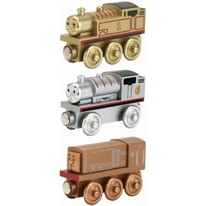 THOMAS THE TRAIN-SODOR COLLECTOR/'S PACK GOLD THOMAS BRONZE DIESEL SILVER PERCY!!